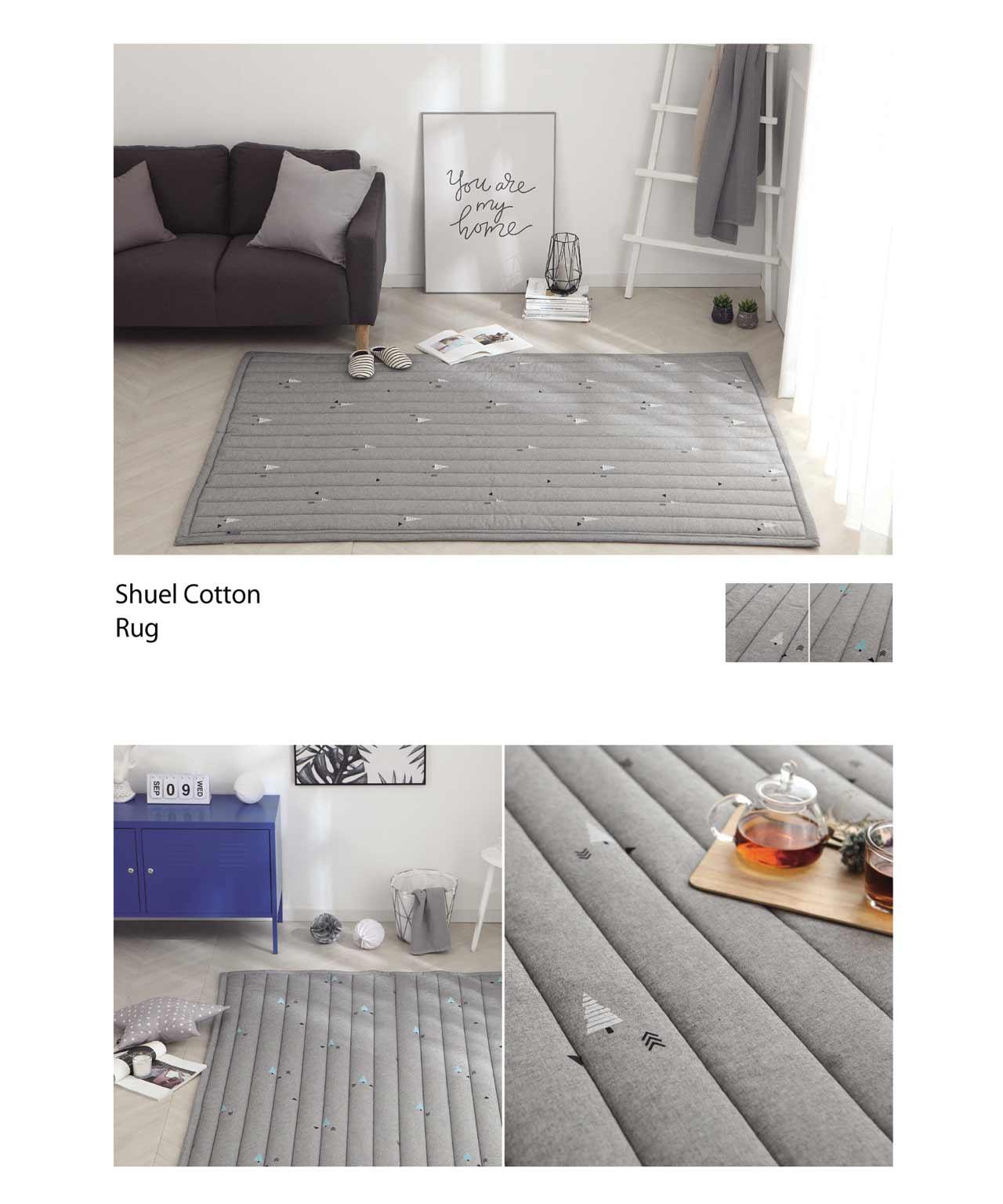 Tấm trải giường Shuel cotton