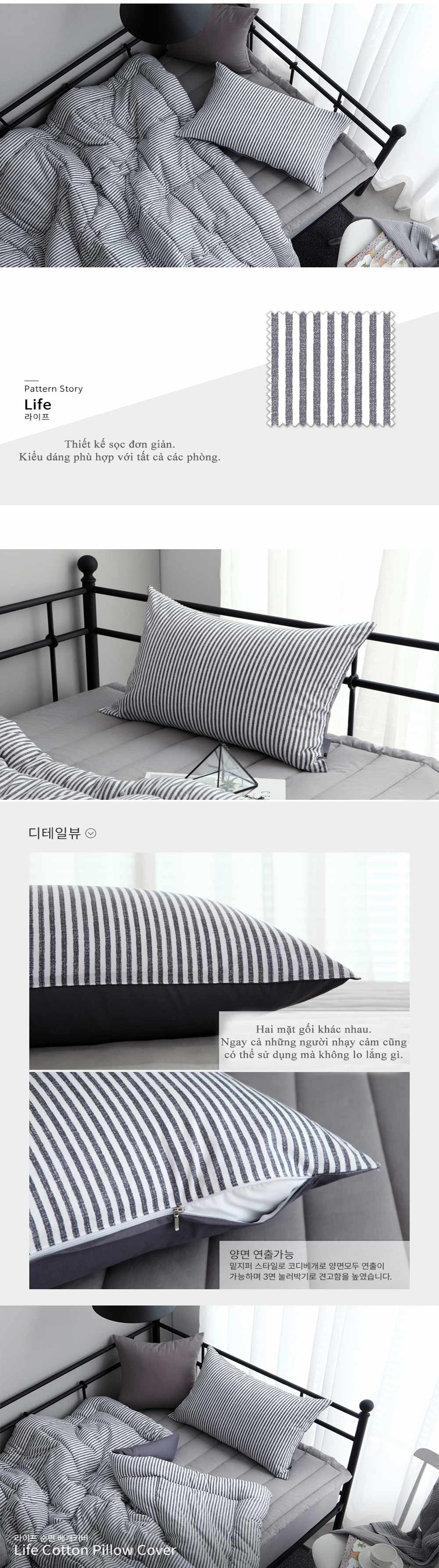 Gối giường cao cấp