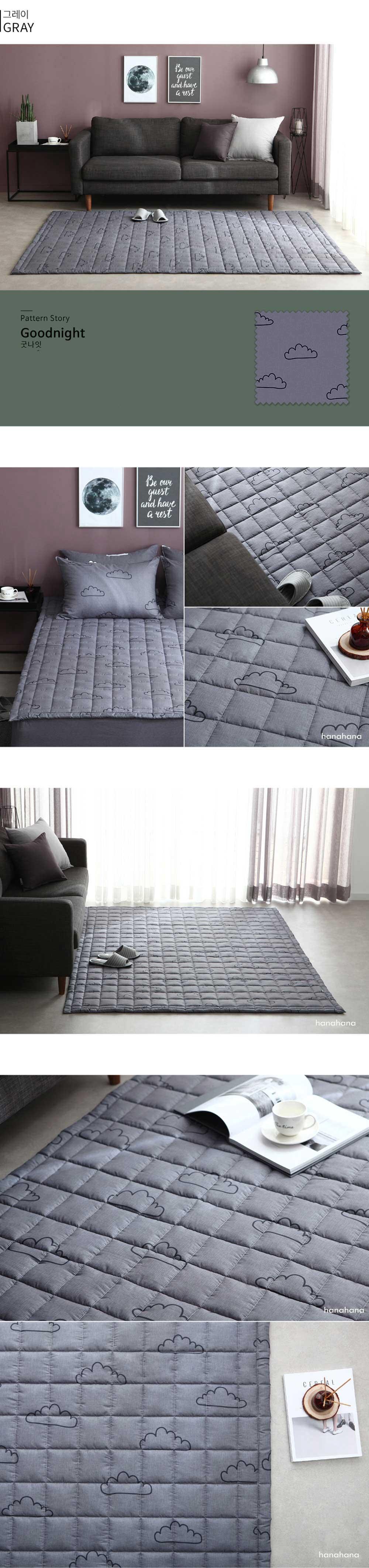 Tấm trải sàn ngủ cao cấp chống đau lưng