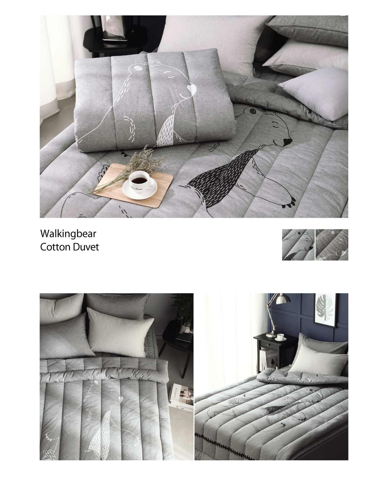 Bộ chăn mền Walkingbear cotton duvet