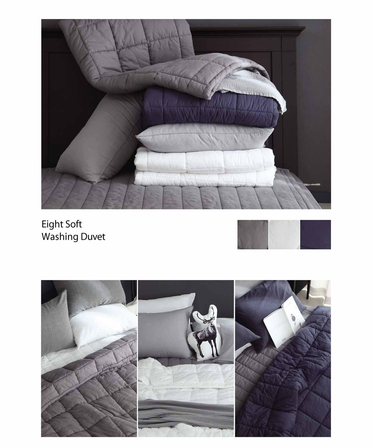 Bộ giường bao gồm chăn mền gối Eight soft