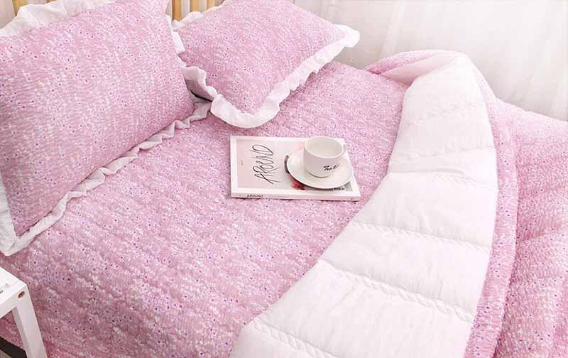 Chăn mền Song Shaka màu hồng